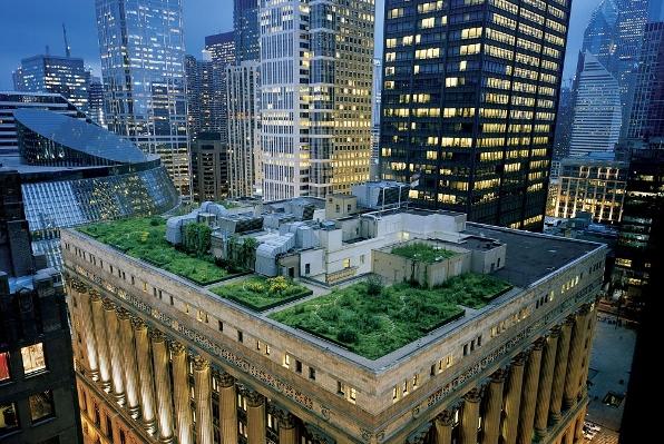 Zelene površine na krovovima
